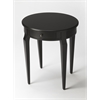 Archer Black Licorice Side Table, Black Licorice