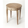 Archer Driftwood Side Table, Driftwood