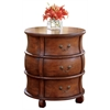 Bentley Plantation Cherry Barrel Table, Plantation Cherry