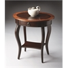 BUTLER Oval Accent Table, Cherry Nouveau