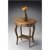 BUTLER Oval Accent Table, Praline
