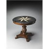 Fossil Stone Accent Hall Table, Heritage
