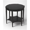 Bainbridge Black Licorice Accent Table, Black Licorice