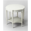 Butler Bainbridge Cottage White Accent Table, Cottage White