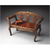Hawthorne Tobacco Leaf Bench, Tobacco Leaf