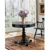 Langley Regal Black Hand Painted Foyer Table, Regal Black