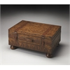 Vasco Old World Map Trunk Table, Heritage