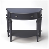 Halifax Blue Console Table, Blue