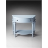 Butler Halifax Glossy Wedgewood Console Table, Glossy Wedgewood