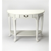 Kimball Cottage White Console Table, Cottage White