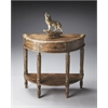 Butler Mozart River Walk Demilune Console Table, River Walk