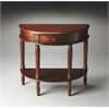 Mozart Madrid Brown Demilune Console Table, Madrid Brown