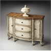 Sheffield Toasted Mashmallow Console Cabinet, Toasted Marshmallow