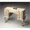 Charlotte Gilted Cream Hand Painted Vanity, Gilted Cream