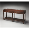 Charleston Plantation Cherry Sofa/Console Table, Plantation Cherry