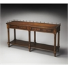 Charleston Umber Sofa/Console Table, Umber