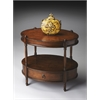 Butler Barrington Madrid Brown Oval Accent Table, Madrid Brown