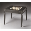 Vincent Black Licorice Multi-Game Card Table, Black Licorice