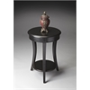 Holden Black Licorice Accent Table, Black Licorice