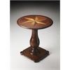 BUTLER Pedestal Table, Plantation Cherry