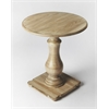 BUTLER Pedestal Table, Driftwood
