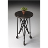 Costigan Industrial Chic Accent Table, Metalworks