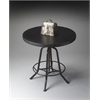 "Butler Hall/Pub Table, Metalworks, 29""Diam."
