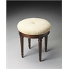 Bernadette Plantation Cherry Vanity Stool, Plantation Cherry