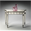 Garbo Mirrored Console Table, Mirror