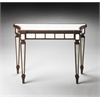 Butler Garbo Mirror And Mahogany Console Table, Mirror and Mahogany