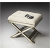 Marlo Mirrored Vanity Stool, Mirror