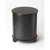 BUTLER Drum Table, Black Licorice