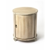 Lawrie Driftwood Drum Table, Driftwood