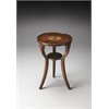 Dalton Plantation Cherry Round Accent Table, Plantation Cherry
