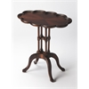 Lloyd Plantation Cherry Oval Accent Table, Plantation Cherry