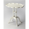 Lloyd Cottage White Oval Accent Table, Cottage White