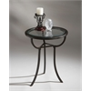 Danley Transitional Accent Table, Metalworks