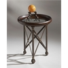 Richton Transitional Accent Table, Metalworks