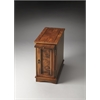 Harling Olive Ash Burl Chairside Chest, Olive Ash Burl