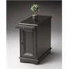 BUTLER Chairside Chest, Black Licorice