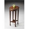 BUTLER Accent Table, Chestnut Burl