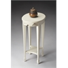 Arielle Cottage White Accent Table, Cottage White