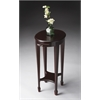 Arielle Cordovan Accent Table, Cordovan