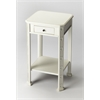 Butler Moyer Cottage White Accent Table, Cottage White