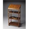 Alden Vintage Oak Library Stand, Vintage Oak