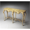 Wentworth Winter Forest Painted Console Table, Winter Forest
