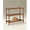 Butler Rothwell Plantation Cherry 3-Tier Console Table, Plantation Cherry