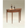 Hampton Plantation Cherry Demilune Console Table, Plantation Cherry