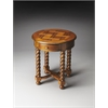 Butler Brockton Vintage Oak Round Accent Table, Vintage Oak