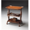 BUTLER Side Table, Old World Cherry